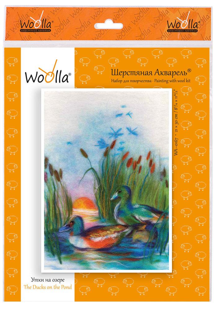 Шерсть Woolla Утки на озере