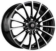 Racing Wheels H-429 6.5x15 5x114.3 ET 40 Dia 73.1 BK F/P - фото 1