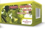 Фиточай ХОРСТ Гинкго билоба +клевер (цветки и трава) 1,5г No20