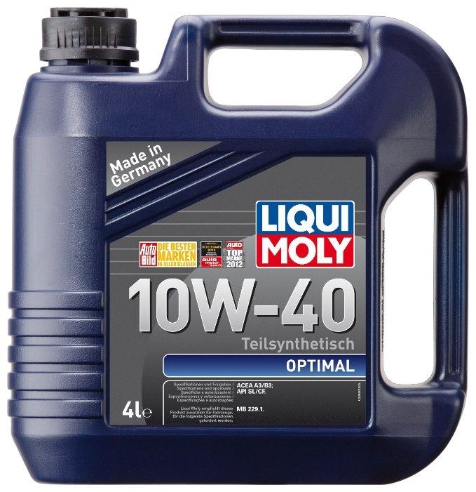 Моторное масло LIQUI MOLY Optimal 10W-40 4л