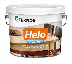 Teknos HELO AQUA 40 полуглянцевый водоразбавляемый специальный лак , 9.0л