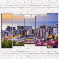 Модульная картина Испания. Городской пейзаж арт. 5-2