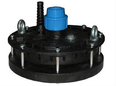 Оголовок скважинный Джилекс ОСП 130-140/40 пластиковый