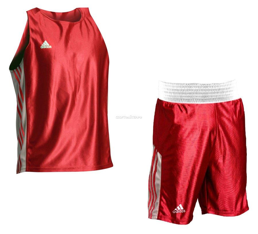Комплект формы adidas Amateur Boxing Tank - красный