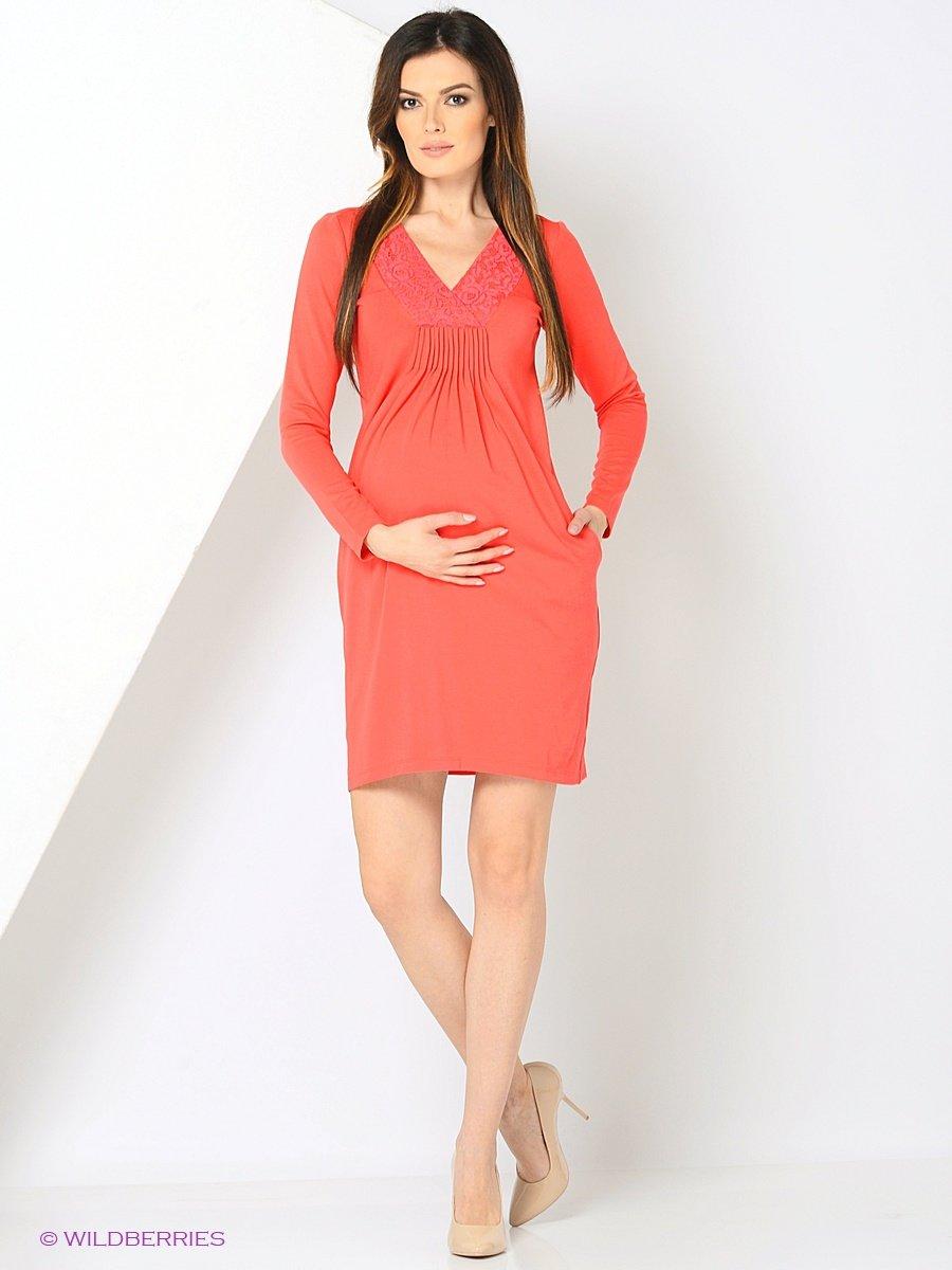 Платье UNIOSTAR 271.5017.52.02/коралл