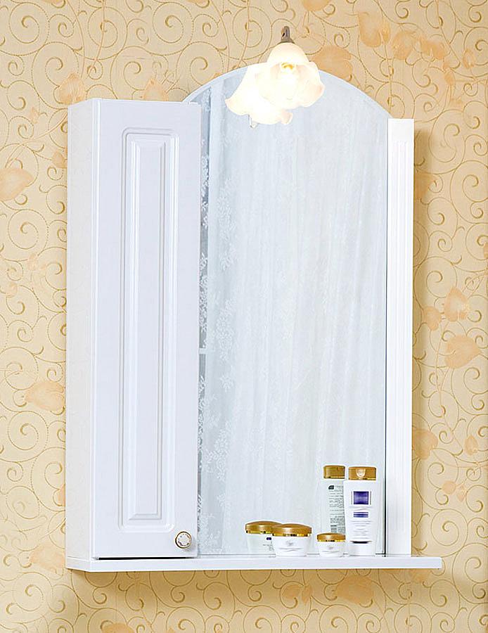 Зеркало Анна 60 Белая Бриклаер