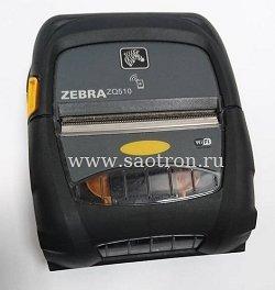 принтеры мобильные zebra zq-510 / ZQ51-AUN010E-00 / мобильный принтер zebra zq510 dt (usb, wlan, ширина печати 72 мм, active nfc)