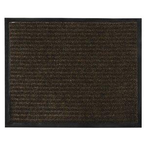 """Коврик входной ворсовый влаго-грязезащитный """"Vortex"""", 120x150 см, коричневый"""