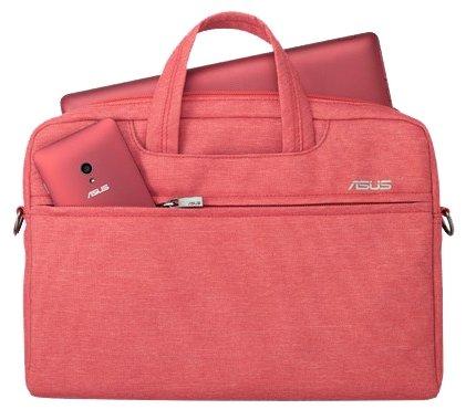 "Сумка для ноутбука 12"" ASUS EOS Carry Bag Red 90XB01D0-BBA030"