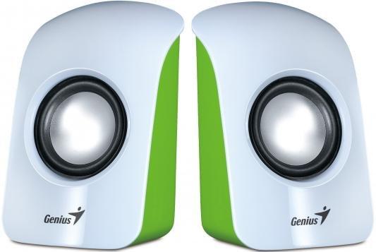 Компьютерная акустика Колонки Genius SP-U115 USB White