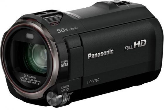 Цифровая видеокамера Panasonic HC-V760 черный