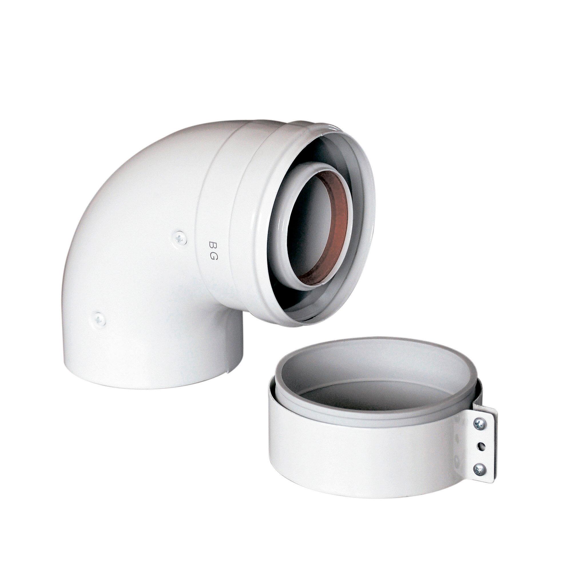 Коаксиальный отвод Baxi 90 , диам. 60/100 мм(арт. KHG71410141)