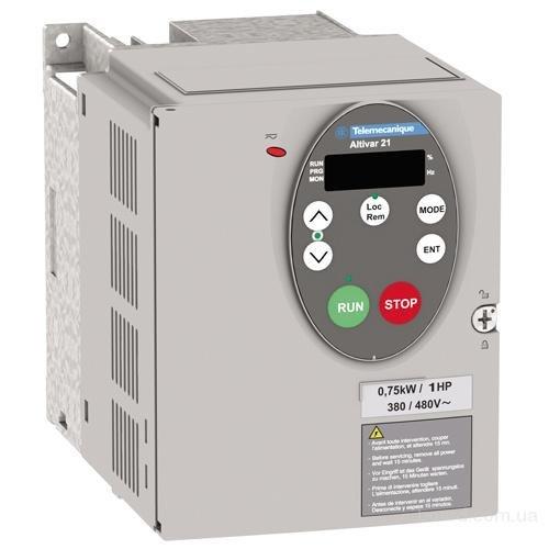 Преобразователи частоты Преобразователь частоты 7,5 кВт 480В 3-х фазный IP21 Schneider Electric