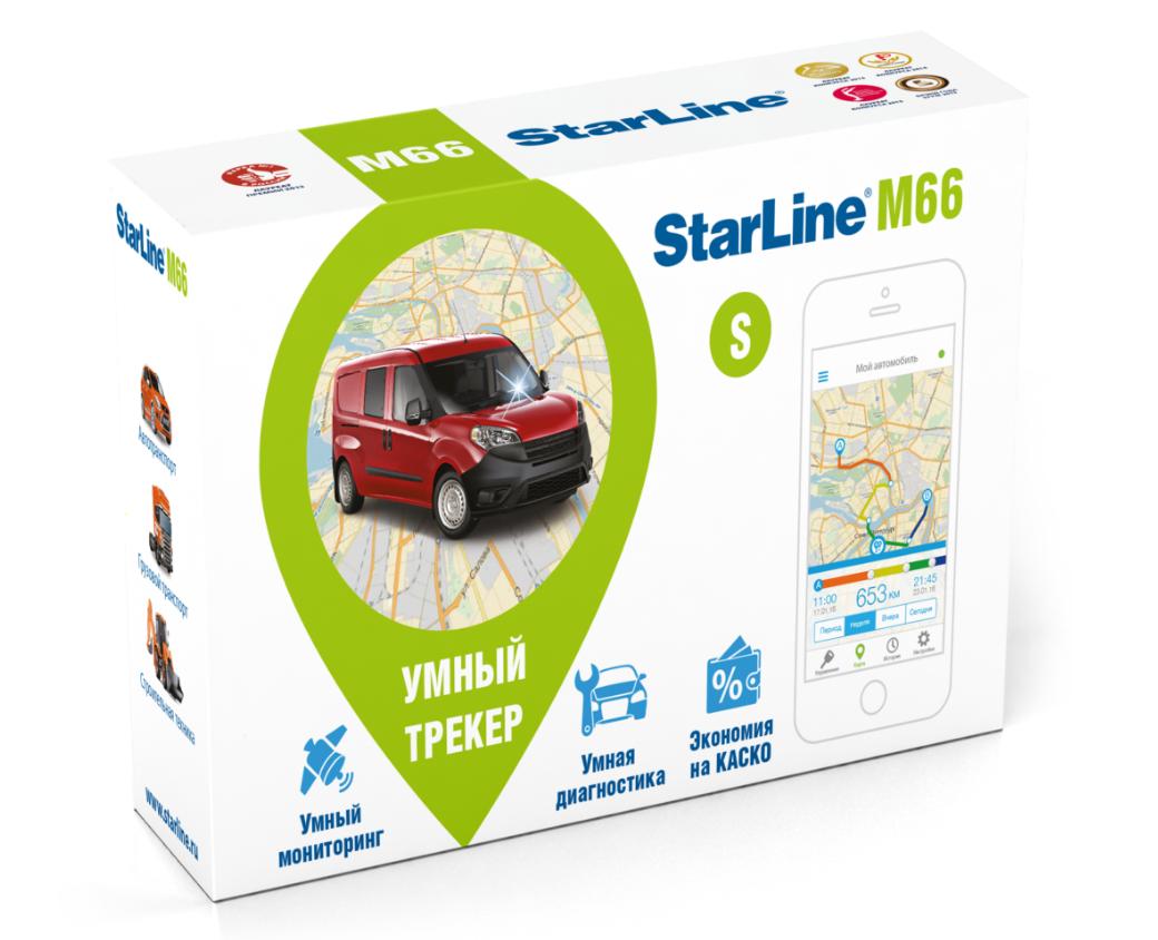 Трекер StarLine M66 S
