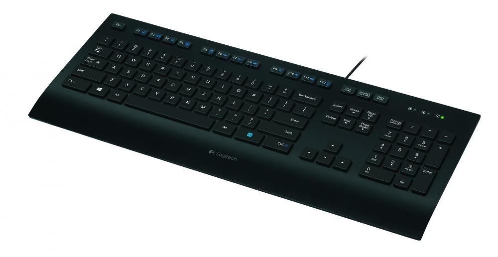 Клавиатура Logitech K280e USB (черный)