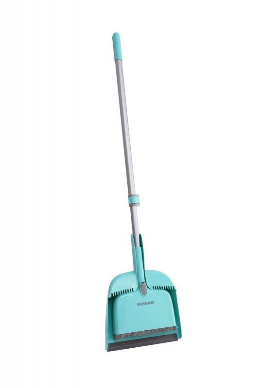 Набор для сухой уборки HAUSMANN HM-00220 Broomer, щетка + совок, длина 132см