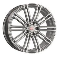 1000 Miglia MM1005 8,5x19 5x112 ET 32 Dia 66,6 (Matt Silver Polished) - фото 1