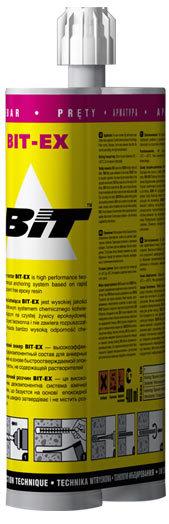 BIT-EX 600 мл Химический анкер для арматуры