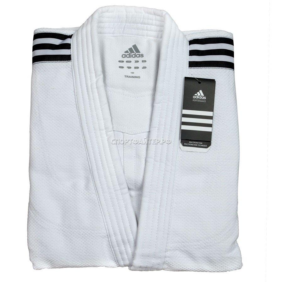 Кимоно для дзюдо Adidas Training - белое