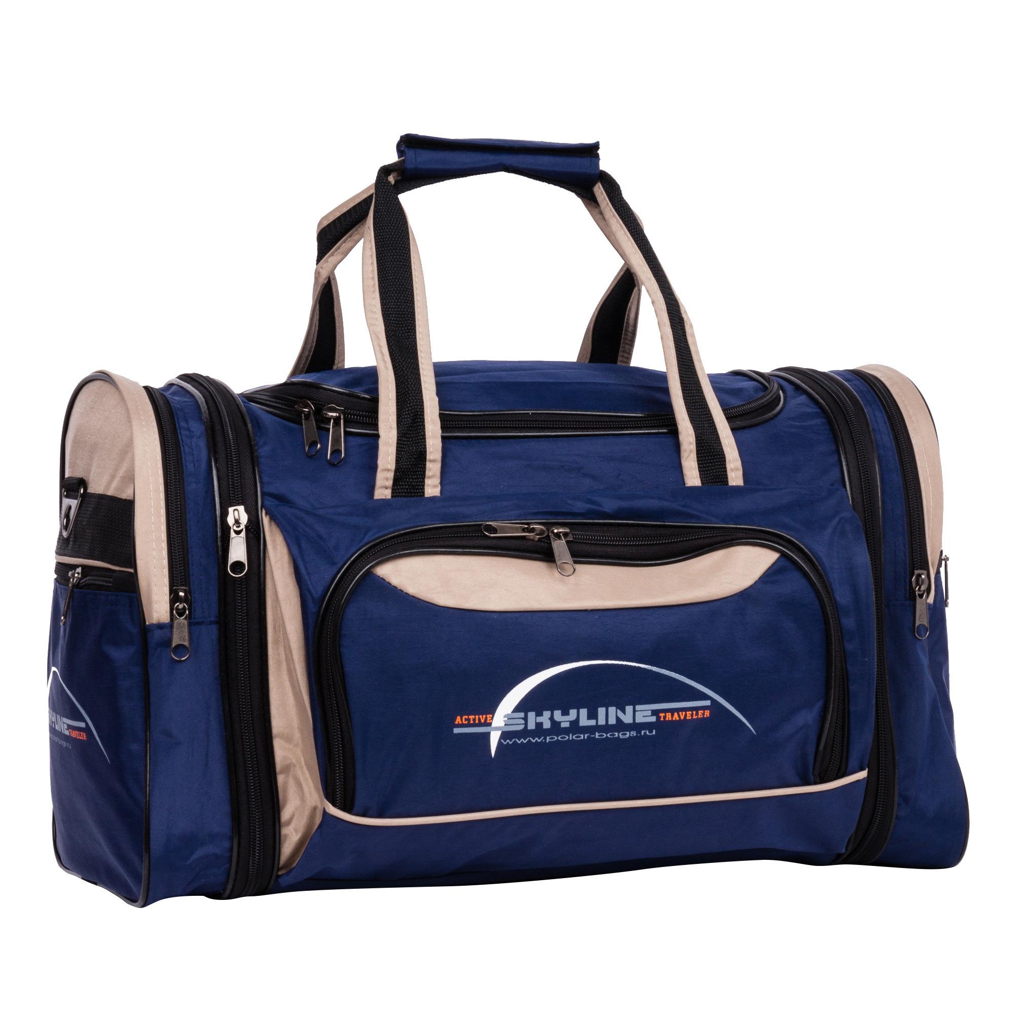 Спортивная сумка Polar 6067-1 38 бежевый