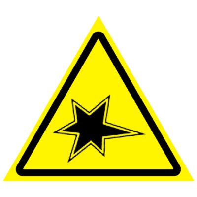 Предупреждающий знак Осторожно. Газоопасные работы