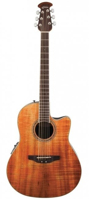 OVATION CS24P-FKOA Celebrity Standard Plus Mid Cutaway Figured Koa гитара электроакустическая