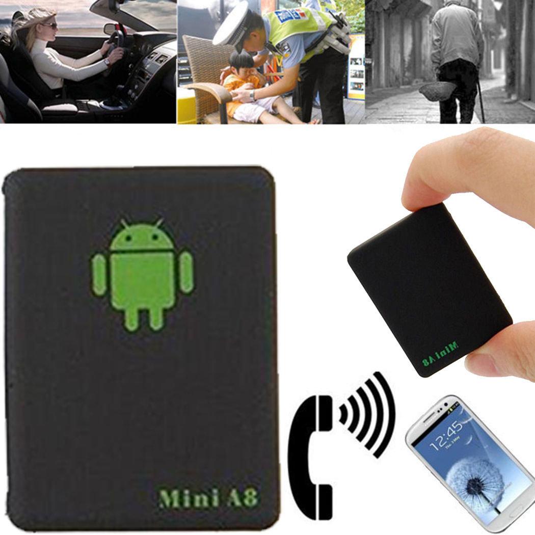 Маленький GPS трекер для отслеживания машины или человека A8