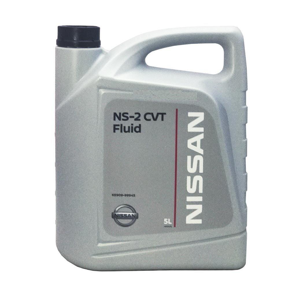 Масло трансмиссионное NISSAN для АКПП CVT FLUID NS-2 (5л) KE90999945R (Европа) NISSAN-ATF-NS2-5L