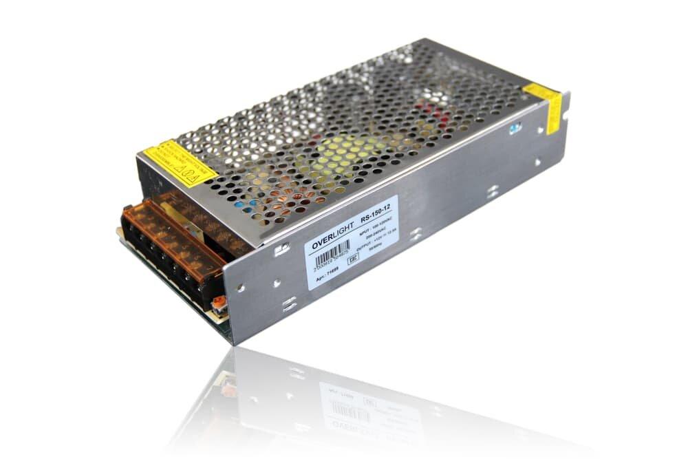 Блок питания RS-150-12 (12V, 150W, 12,5A, IP20)
