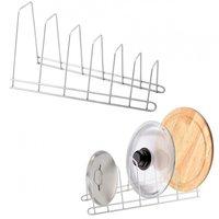 Подставки для посуды Мультидом an52-105 подставка д/крышек и раздел. досок