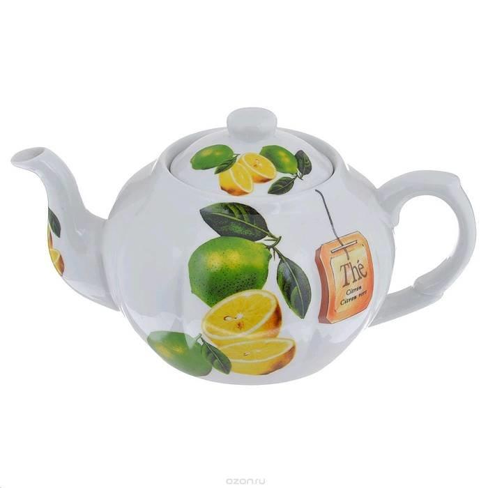 п-да/чай larange 586-240 (кв) чайник цитрон 1000 мл