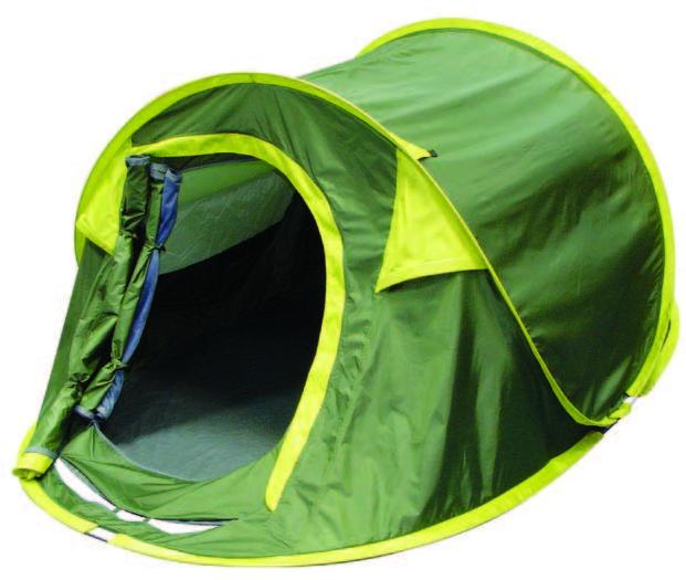 Палатка Trek Planet Moment Plus 2 Темно-зеленый/светло-зеленый