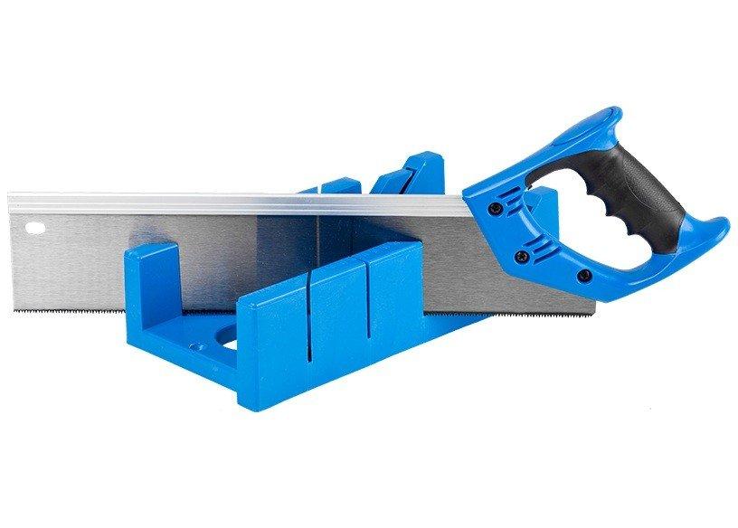 Набор стусло, ножовка 400 мм, заготовки до 105x55 мм, 3 угла запила