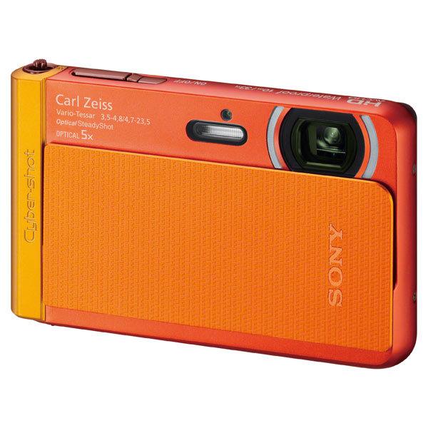 Фотоаппарат компактный Sony Cyber-shot DSC-TX30 Orange