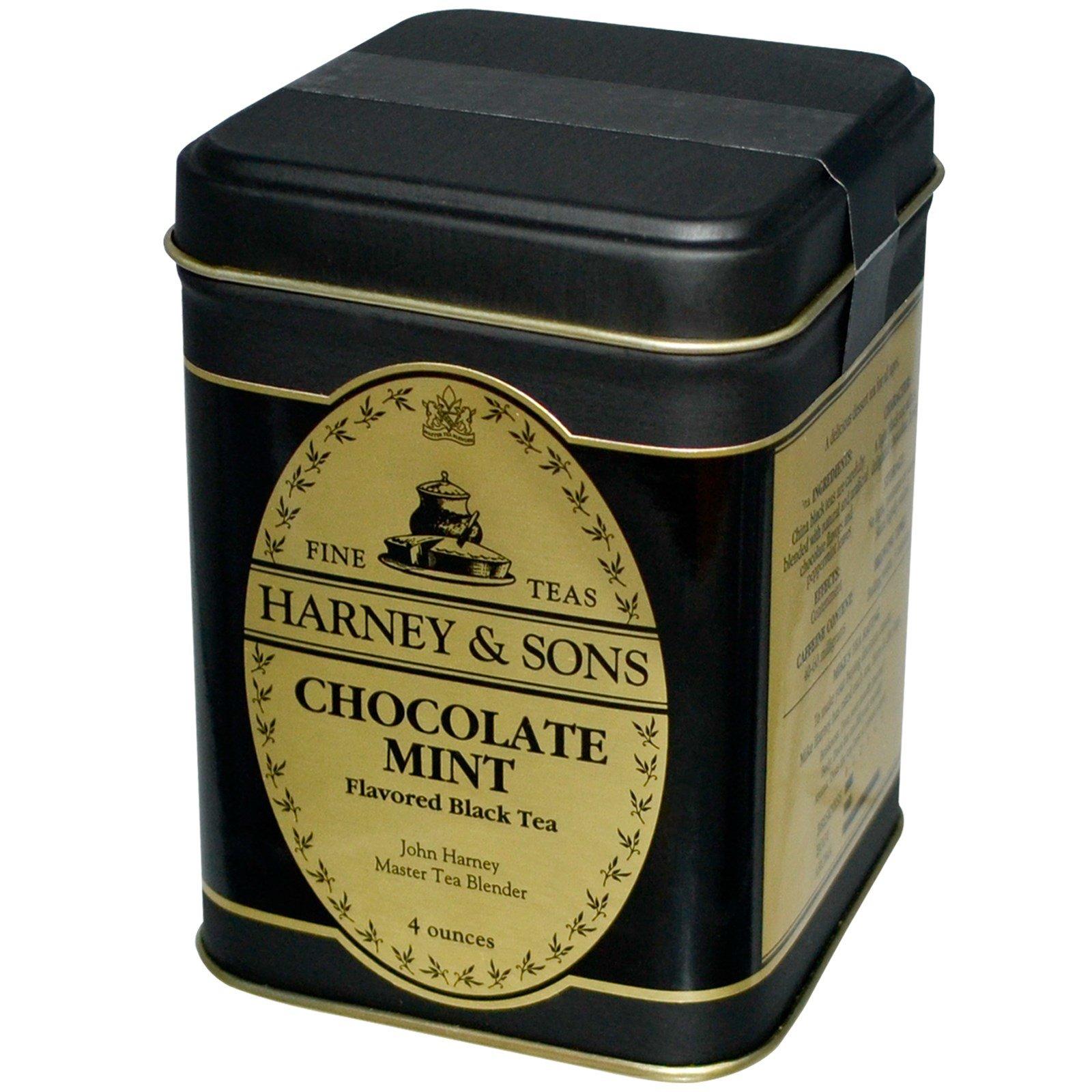 Чай черный Harney & Sons с шоколадом и мятой