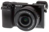Цифровой фотоаппарат Sony Alpha ILCE-6000 Kit 16-50 PZ черный