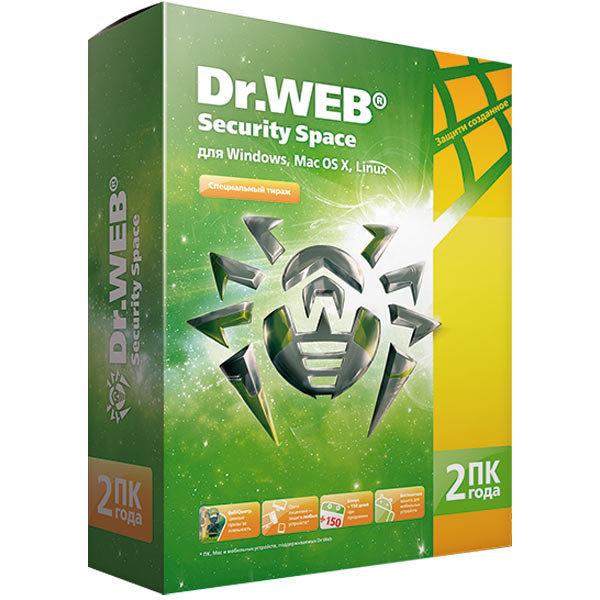 ПО Dr.Web Sec.Space 2г/2пк