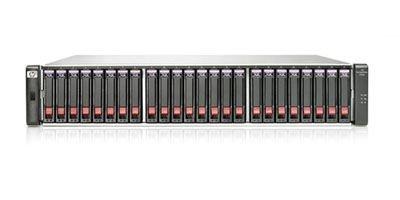 Система хранения данных HP P2000 FC DC SFF Modular Smart Array System (incl. 1XP2000 SFF Drive Chassis (AP839A), 2xP2000 G3 FC Controller (AP836A)) (AP846A)