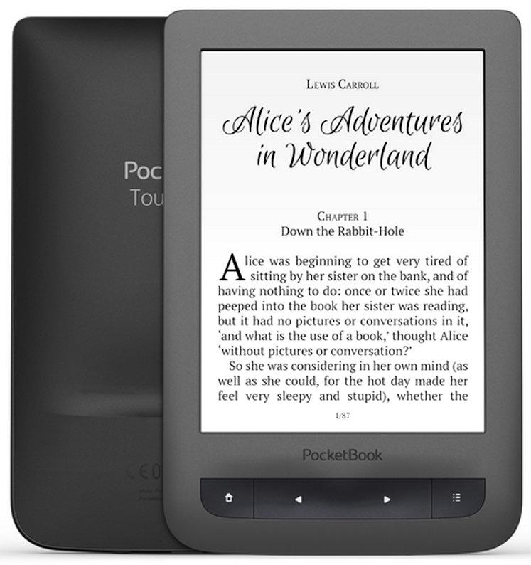 Электронная книга PocketBook Touch Lux 3 626 Plus + Книги