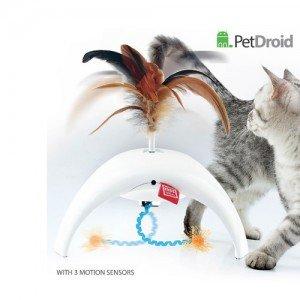 GiGwi Pet Droid Фезер Спиннер со звуковым чипом 18 см