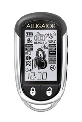 Автосигнализация Alligator C-5 с обратной связью + дистанционный запуск брелок с ЖК дисплеем