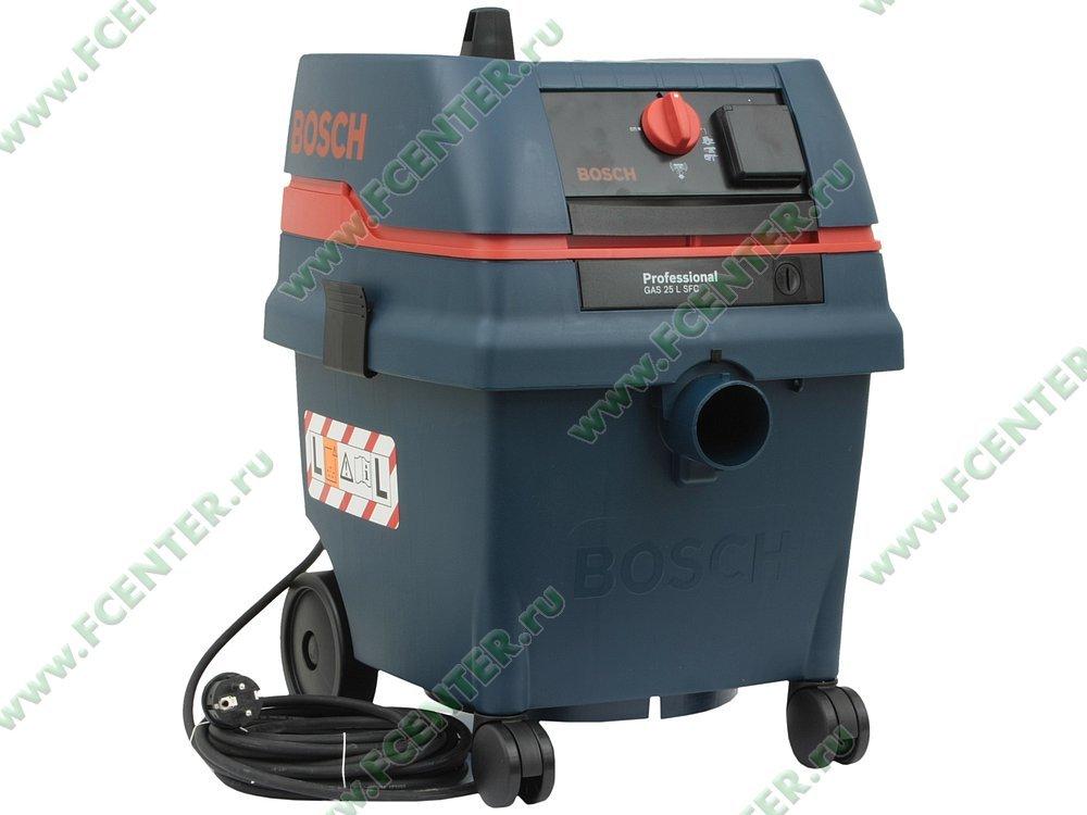 Пылесос Bosch GAS 25 L SFC Professional 0601979103 (1200Вт, 16л/20л)