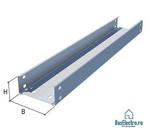 Кабельный лоток металлический 3000х400х50х0,8мм (LN50*400*0.8)