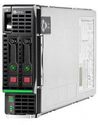Сервер Proliant BL460c Gen8 E5-2670/2xXeon8C 2.6GHz(20Mb)/8x8GbR1D/P220iFBWC(512Mb/RAID0,1)/SFF noHDD(2)/2xFlexF(1/10Gb)FlexLOM/iLO4 std/1slotEncl, analog 637390-B21 and 603251-B21 (666157-B21)
