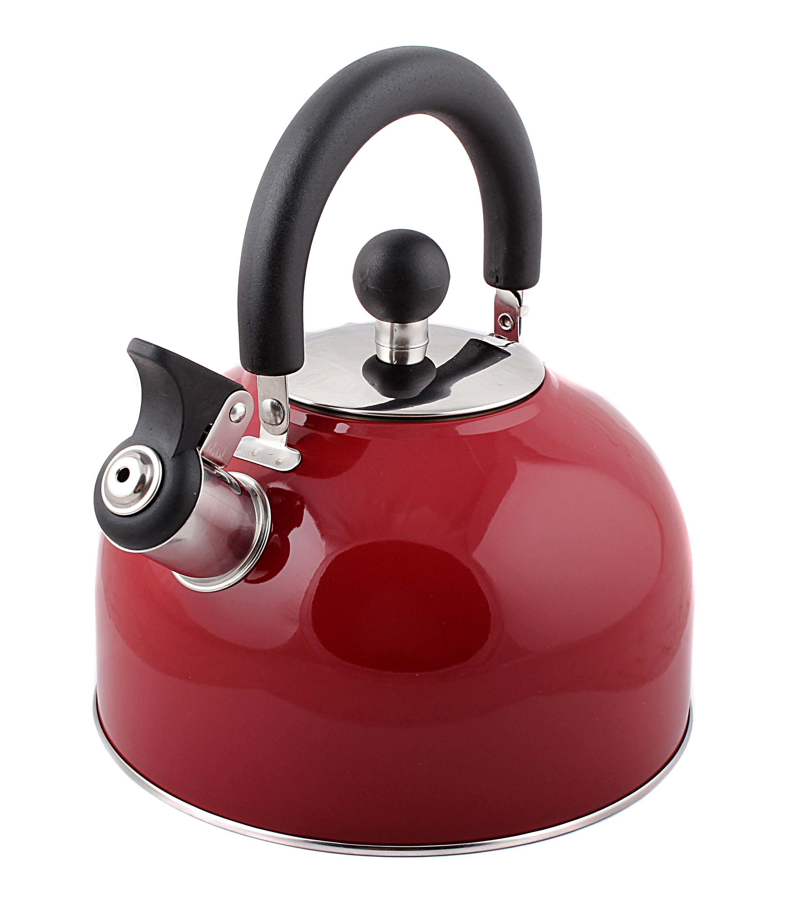 Чайник металлический Mallony 910084 mal-039-r 2.5л