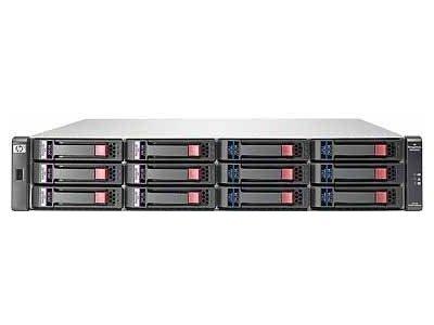 Дисковый массив HP StorageWorks MSA2000 Dual I/O 3.5 inch 12 Disk Enclosure (MSA2000 support up to 3, MSA2000 G2 up to 4 disk encl) incl 2x0,6m SAS cbl AJ750A