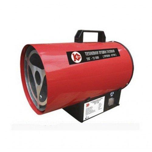 Тепловентилятор газовый 15кВт калибр ТПГ-15