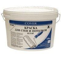 Ковер Краска для потолков белая Cover 14кг