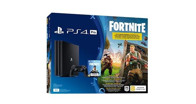 Игровая консоль Sony PlayStation 4 Pro (1 ТБ) Fortnite