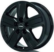 Колесные литые диски Rial Transporter 5 Black 7x17 5x130 ET66 D89.1 Чёрный глянцевый (TP70766O42-6) - фото 1